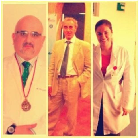 Dr. Correa-Rotter, Dr. Dib Kuri, Dra. Oyuki