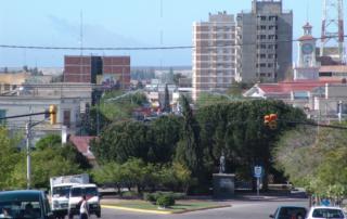 Ciudad de Trelew, Chubut, ARG.