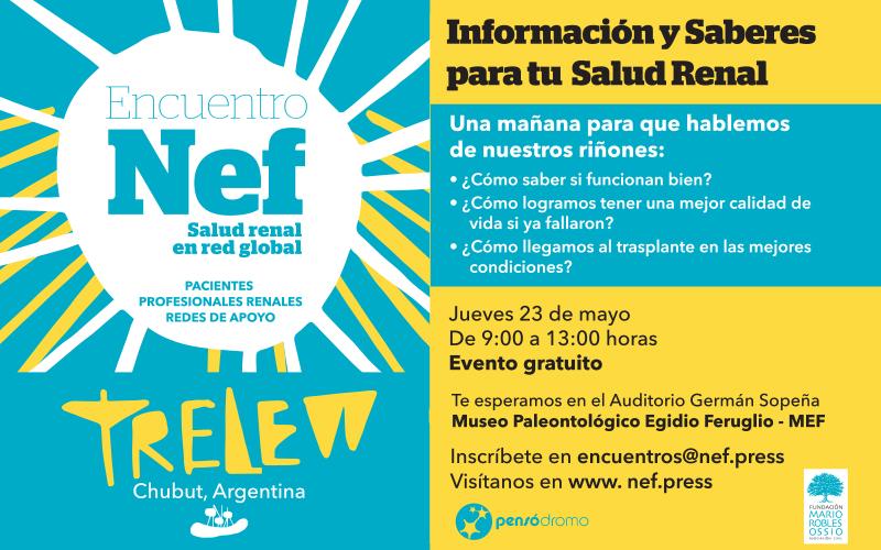 Flyer Encuentro Nef @ Trelew, Arg.